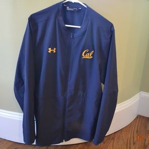 UNDER ARMOUR L/S ZIP JACKET CAL STATE